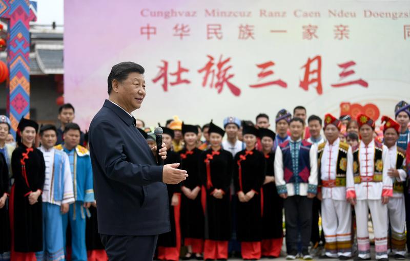 习近平在广西考察:解放思想深化改革凝心聚力担当实干 建设新时代中国特色社会主义壮美广西